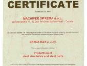 ISO EN 3834-2:2005